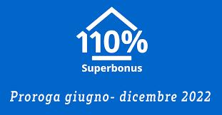 PROROGHE BONUS 110%